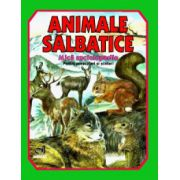 Animale salbatice - Mica enciclopedie (color) imagine libraria delfin 2021