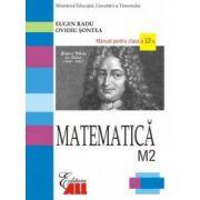 Matematica M2. Manual clasa a XII-a - Eugen Radu imagine librariadelfin.ro