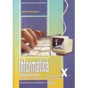Manual informatica clasa a X-a. Real, intensiv informatica - Mariana Milosescu imagine librariadelfin.ro