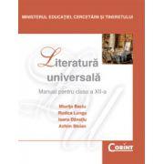 Manual de literatura universala clasa a XII-a - Miorita Baciu imagine librariadelfin.ro