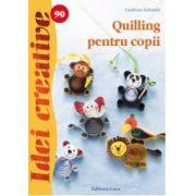 Quilling pentru copii imagine librariadelfin.ro