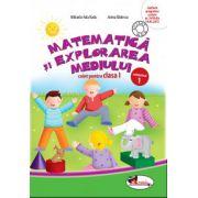 Matematica si explorarea mediului. Caiet pentru clasa I, semestrul 1 - Anina Badescu imagine librariadelfin.ro