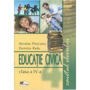 Educatie civica - caietul elevului clasa a-IV-a imagine librariadelfin.ro