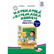 Caiet Matematica si explorarea mediului clasa a II-a, semestrul II - Anina Badescu imagine librariadelfin.ro