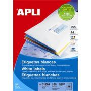 Etichete autoadezive Apli, 33/A4, 3300 buc
