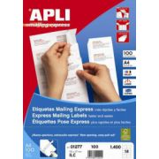Etichete autoadezive Apli, 30/A4, 2700 buc imagine librariadelfin.ro