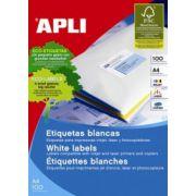 Etichete autoadezive Apli, 8/A4, cu colturi rotunjite, 800 buc imagine librariadelfin.ro