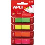 Index Apli Pop-Up cu dispenser, 12x45 mm, 40 file/culoare imagine librariadelfin.ro