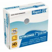 Capse Rapid Strong 23/24 - pentru 150-210 coli imagine librariadelfin.ro