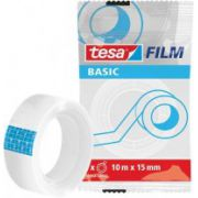 Banda adeziva de birou transparenta Tesa Basic, 19mm x 33m imagine librariadelfin.ro