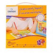 Set creativ Desenez si afisez Canson, tema: Cavaleri imagine librariadelfin.ro