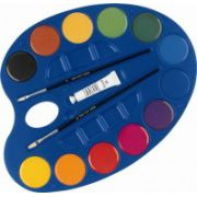 Acuarele cu paleta Morocolor Easy Colour, 12 culori/set imagine librariadelfin.ro