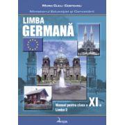 Manual pentru limba germana, clasa XI-a Limba 2 - Maria Cucu-Costeanu imagine librariadelfin.ro