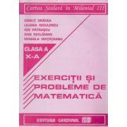Exercitii si probleme de matematica, clasa a-X a ( Danut Dracea) imagine librariadelfin.ro