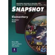 Snapshot, Elementary. Manual de engleza clasa a VI-a. Limba 2 - Brian Abbs imagine librariadelfin.ro