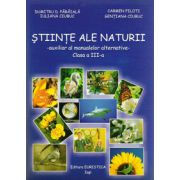 Auxiliar al manualelor alternative (Mapa cu fise), Stiinte ale naturii clasa a III-a imagine librariadelfin.ro
