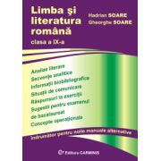 Limba si literatura romana - indrumator pentru clasa a IX-a imagine librariadelfin.ro