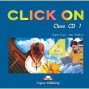 Click On 4, Class audio CD. Set 6 CD. Curs de limba engleza - Virginia Evans