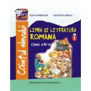Limba si literatura romana - caietul elevului pentru clasa a IV-a, partea I imagine librariadelfin.ro