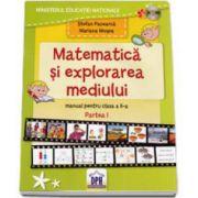 Manual Matematica si explorarea mediului pentru clasa a II-a, semestrul I. CD inclus - Mariana Mogos, Stefan Pacearca imagine librariadelfin.ro