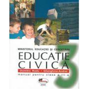 Educatie civica. Manual pentru clasa a III-a - Dumitra Radu, Gherghina Andrei imagine librariadelfin.ro