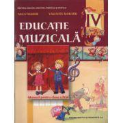 Educatie muzicala. Manual clasa a IV-a - Anca Toader imagine librariadelfin.ro