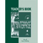 Enterprise 4, Intermediate, Teachers Book. Curs de limba engleza - Jenny Dooley