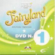 Fairyland 1 DVD. Curs de limba engleza - Virginia Evans