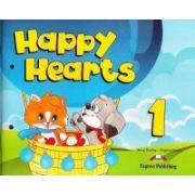 Happy Hearts 1, Student Book. Manualul elevului, Curs pentru prescolari - Jenny Dooley, Virginia Evans