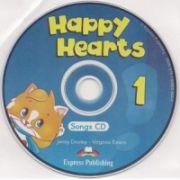 Happy Hearts 1, Songs CD, ( Curs de limba engleza pentru prescolari)