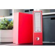 Biblioraft Albo + cutie de protectie, rosu (303030) imagine librariadelfin.ro