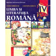 Limba si literatura romana. Manual pentru clasa a IV-a - Celina Iordache imagine librariadelfin.ro