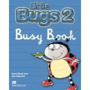 Little Bugs 2, Busy Book-Caietul elevului ( Carol Read ) imagine librariadelfin.ro