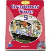Grammar Time 5, Manual pentru limba engleza, Clasa VII-a. Students Book, with multi-ROM - Sandy Jervis