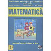 Matematica. Manual pentru clasa a III-a - Valeria Cristici imagine librariadelfin.ro