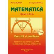 Matematica. Culegere pentru clasa a XI-a - Marius Burtea imagine librariadelfin.ro
