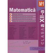 Matematica M1- Culegere de probleme pentru clasa a XII-a (Marius Burtea) imagine librariadelfin.ro