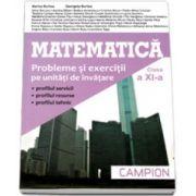 Matematica M2 Culegere de probleme pentru clasa a XI-a - Marius Burtea imagine librariadelfin.ro