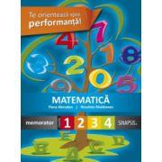 Matematica. Memorator pentru clasele I-IV - Nicoleta Moldovan, Flora Abrudan imagine librariadelfin.ro