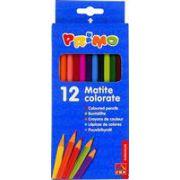 Creioane colorate Morocolor Primo, 12 culori/cutie imagine librariadelfin.ro