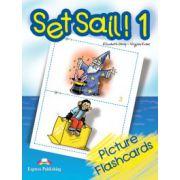 Set Sail 1, FLASHCARDS, (Curs pentru limba engleza )