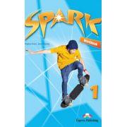 SPARK 1, International, Work Book, Curs de limba engleza pentru clasa V-a (Virginia Evans )