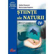 Stiinte ale naturii. Manual pentru clasa a IV-a - Stefan Pacearca imagine librariadelfin.ro