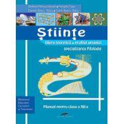 Manual Stiinte Pentru Clasa A Xii-a - Stefania Giersch