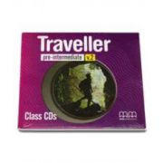 Traveller Pre-Intermediate level Class - CDs pentru clasa a VI-a (H. Q. Mitchell)