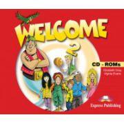 Welcome 2 CD-ROM (set 4 CD-uri ) Curs de limba engleza pentru clasa IV imagine librariadelfin.ro