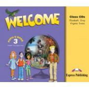 Curs limba engleza Welcome 3 Audio Set 3 CD - Jenny Dooley