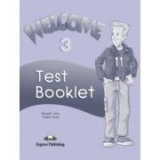 Welcome 3 Test Booklet (curs De Limba Engleza Pentru Clasa V-a)