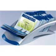 Suport carti de vizita Durable, argintiu metalizat imagine librariadelfin.ro