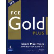 Caietul elevului FCE Gold Plus Maximiser and CD and Key Pack - Sally Burgess